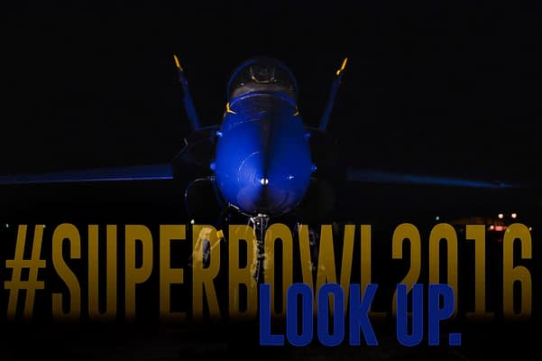 The US Navy Blue Angels Will Fly Over Super Bowl 50 In San Francisco
