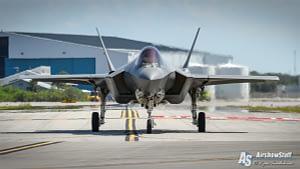 F-35 Lightning II Head On