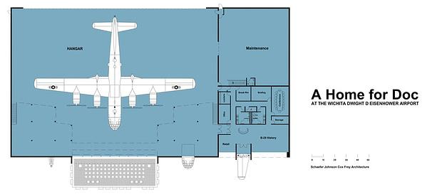 "B-29 Superfortress ""Doc"" Hangar"