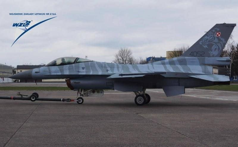Is This The Amazing Tiger Paint Scheme For The New Polish F-16 Demo Team?