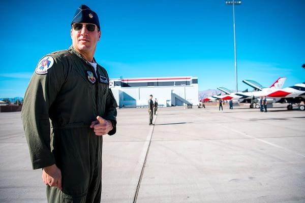 "Thunderbird #4 - Major Stephen ""Cajun"" Del Bagno"