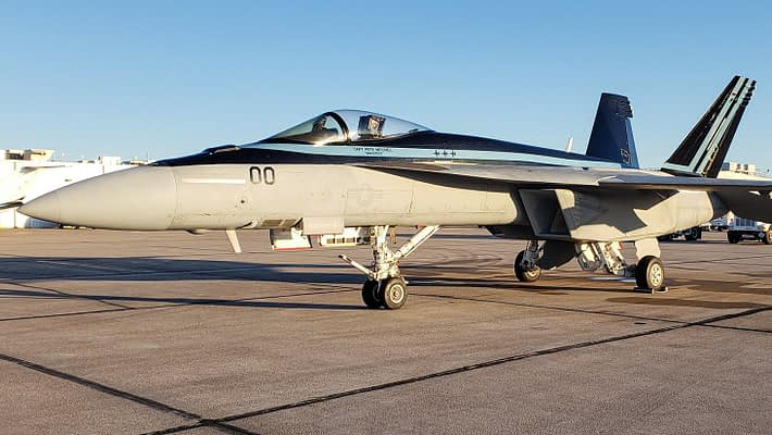 Tom Cruise's Top Gun F-18 Super Hornet To Join Blue Angels