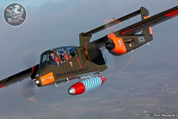 Bavarian OV-10 Bronco Demo Team Looking Ahead To 2018 North American Airshow Tour
