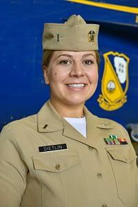 Navy Lt. j.g. Chelsea Dietlin