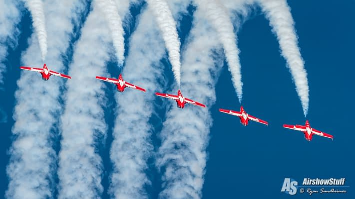 Canadian Forces Snowbirds To Visit Blue Angels, Perform For Pensacola