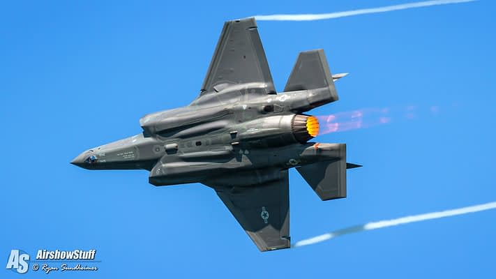 F-35 Lightning II Approved For Extra Flybys During 2018 Airshow Performances