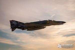 USAF F-4 Phantom II Twilight Demonstration - EAA AirVenture Oshkosh 2015