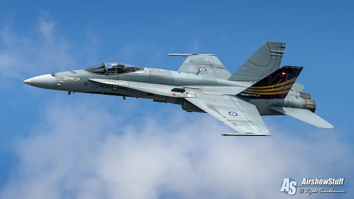 Canadian Forces CF-18 Hornet Demonstration Team 2020 Schedule Released