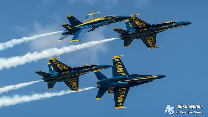 US Navy Blue Angels 2020 Airshow Schedule Released