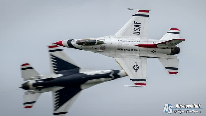 Thunderbirds Add Traverse City To 2019 Airshow Schedule