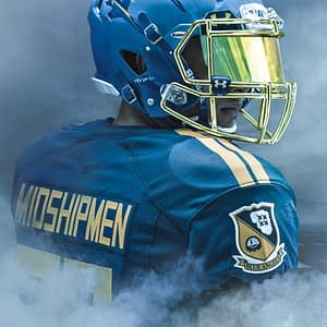 US Naval Academy Blue Angels Football Uniforms