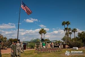 Fallen Hawg Ceremony - Hawgsmoke 2016 - Davis-Monthan AFB