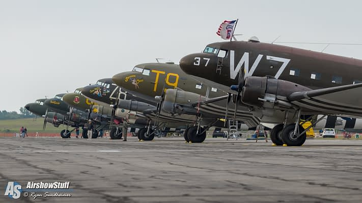 D-Day Squadron To Kick Off Epic Journey With Statue Of Liberty Flyover
