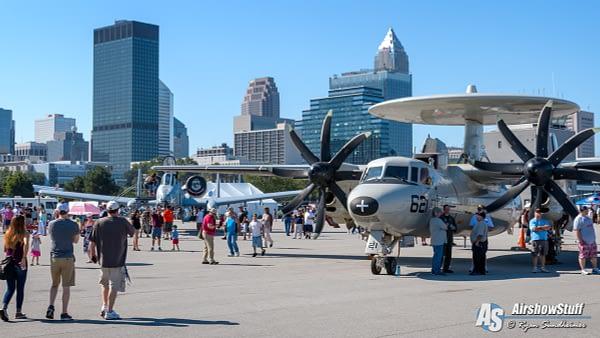 Cleveland National Airshow 2016 - E-2 Hawkeye and A-10 Warthog