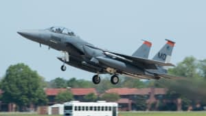 USAF F-15E Strike Eagle - Atlantic Trident 2017