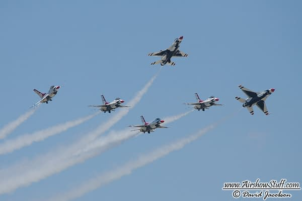 USAF Thunderbirds to Perform in Puerto Rico