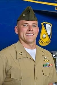Marine Corps Capt. William Huckeba