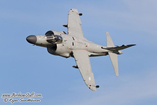 Art Nalls' Sea Harrier - AirshowStuff