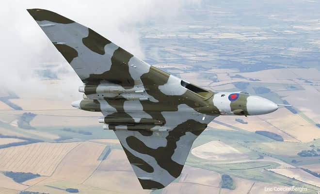 Did Vulcan XH558 Perform Unauthorized Barrel Rolls Before Retirement?