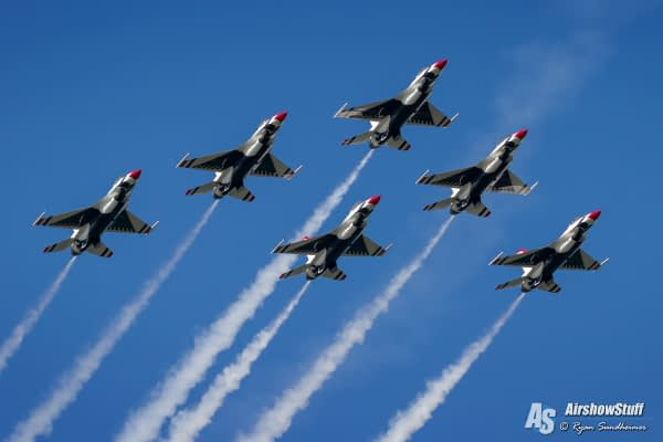 USAF Thunderbirds Will Resume 2016 Season At Ocean City