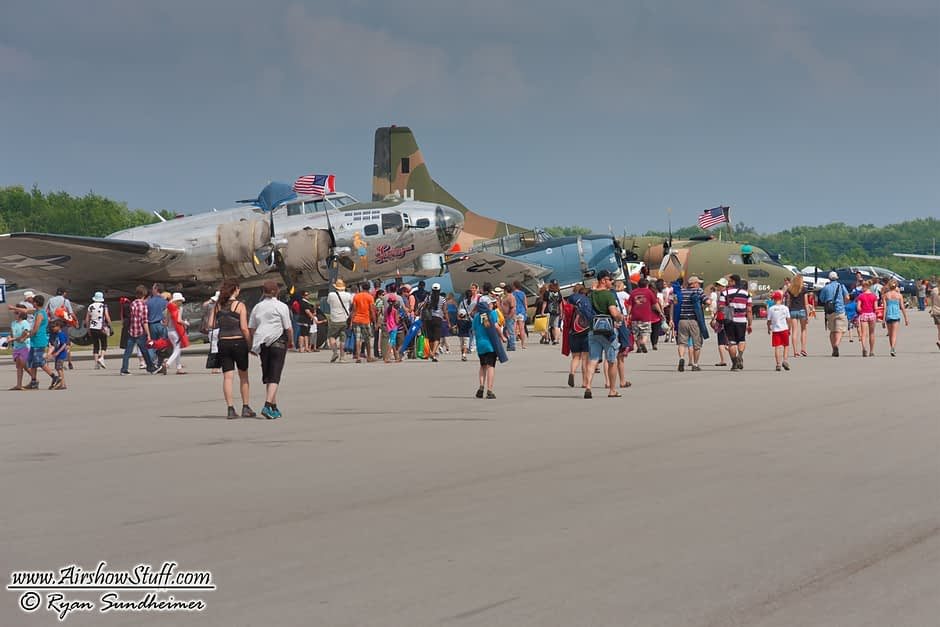 B-17 Flying Fortress - Waterloo Airshow