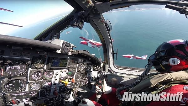 Flying with the Canadian Forces Snowbirds - Cockpit Cam - AirshowStuff