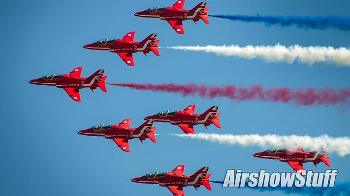 Red Arrows Announce 2019 North American Tour