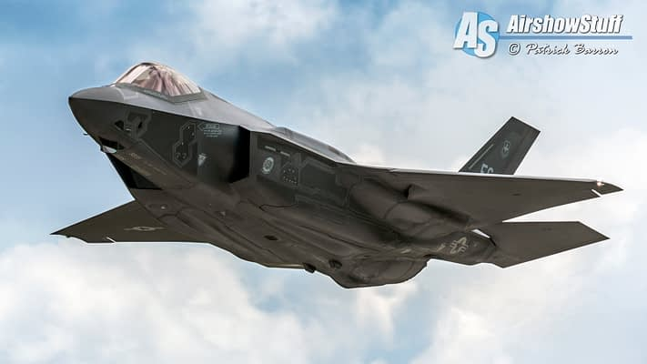 F-35 Will Debut At 2016 Abbotsford International Airshow