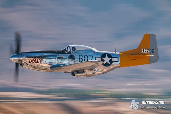 """P-51 Mustang """"Spam Can/Dolly"""" - Planes of Fame Air Museum"""