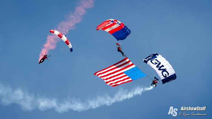 AirVenture 2018 To Highlight Skydiving With Unique Performances