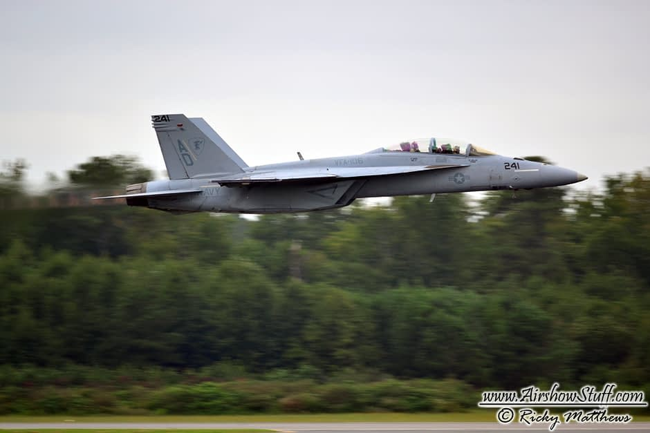 F-18 Hornet Demo Team Schedule