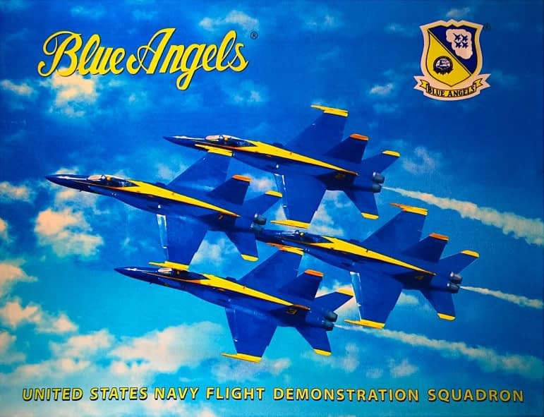 Officially Licensed US Navy Blue Angel Beach Towels (Sponsored)