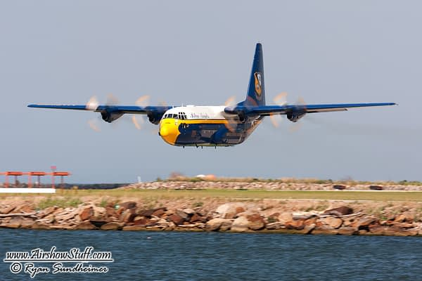 Blue Angels Look to RAF for C-130J