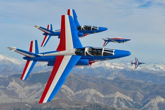 Patrouille de France Adds Third US Airshow Appearance In 2017