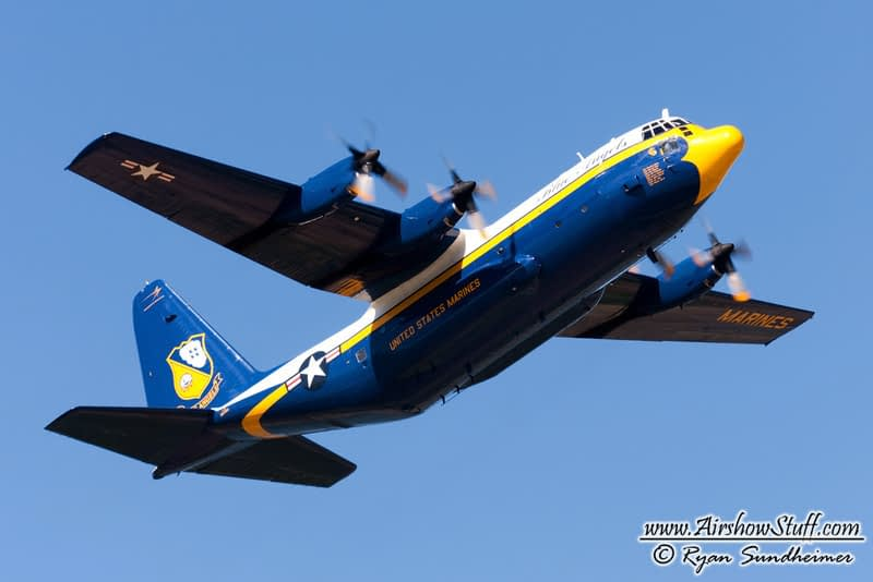 New Details On Blue Angels' Fat Albert Replacement Process