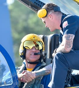 New Boss of the Blue Angels Flies for the 1st Time