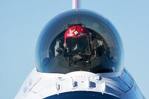 Thunderbird #7 Stare Down During Engine Start