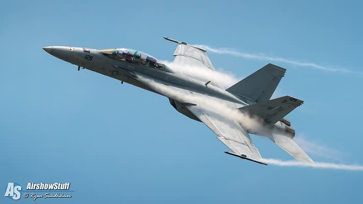 2018 US Navy F/A-18 Super Hornet Demonstration Airshow Schedules Released