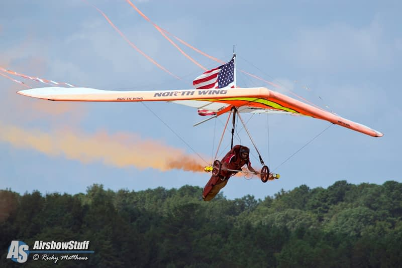 Dan Buchanan Killed In Hang Glider Accident At Mountain Home AFB Airshow