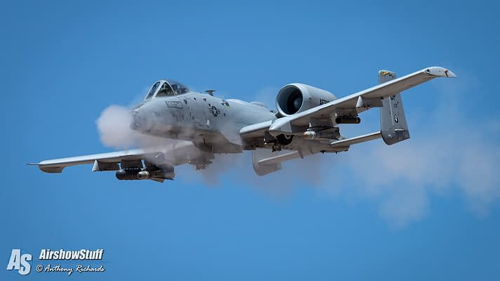 Hawgsmoke 2016 – A-10 Thunderbolt II Action In The Desert