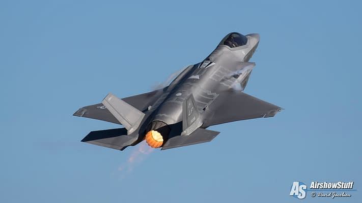 F-35 Demonstration Team To Join F-16 And F-22 Demo Teams At EAA AirVenture 2019
