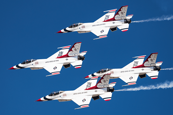 Inside USAF Thunderbird Operations Over Colorado
