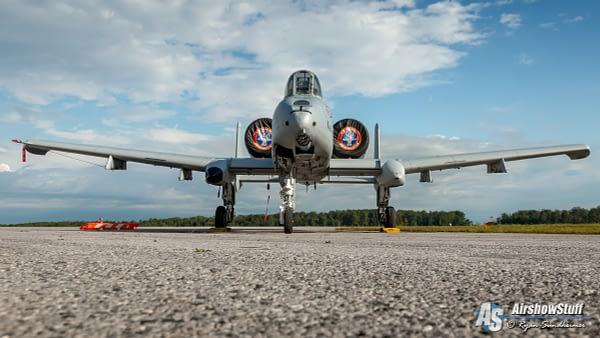 A-10 Thunderbolt II - Airshow London 2019 - AirshowStuff