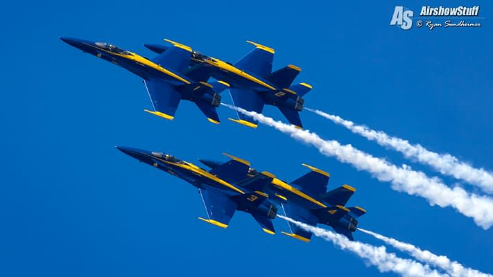 US Navy Blue Angels – NAS Pensacola Practice Show Schedule For 2017