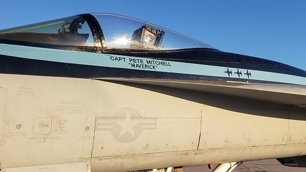 Top Gun Maverick Super Hornet
