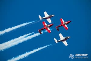 Canadian Snowbirds Practice - Double Take - Air Force Beach, BC