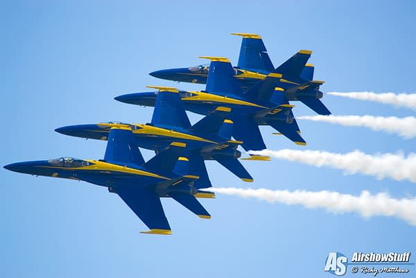 US Navy Blue Angels Release Practice Schedule for 2018
