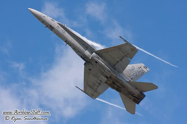 F/A-18C Hornet Demo Added To 2016 NAS Pax River Air Expo Lineup