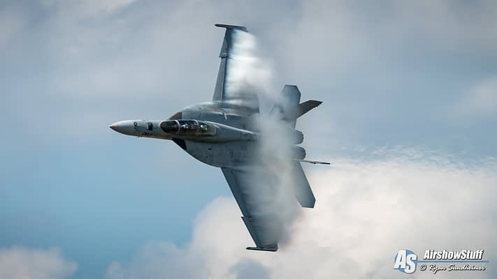 2019 US Navy F/A-18 Super Hornet Demonstration Airshow Schedules Released