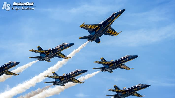 US Navy Blue Angels 2017 Airshow Schedules Released